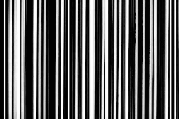 Fundo de linhas retas preto e branco