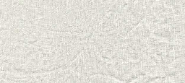 Fundo de linho branco natural