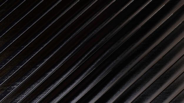 Fundo de listra de textura metálica escura