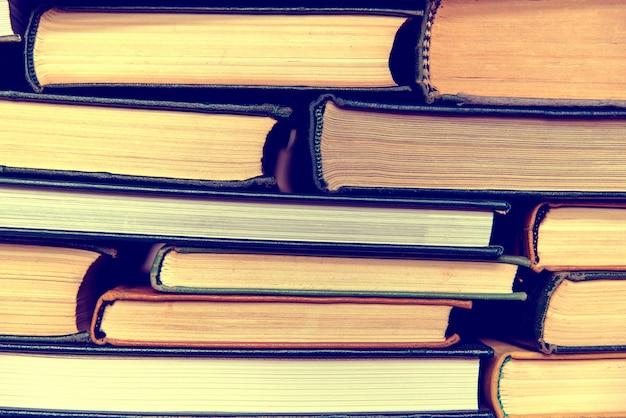 Fundo de livros antigos.