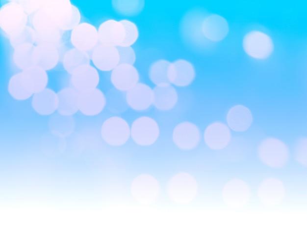 Fundo de luz azul bokeh