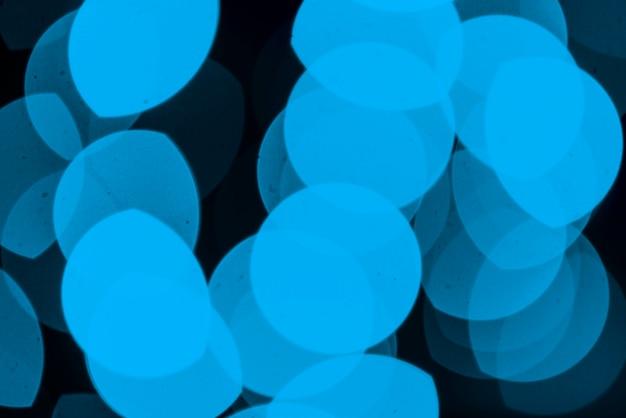 Fundo de luzes de néon azul