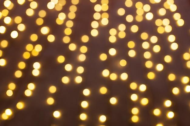 Fundo de luzes desfocadas