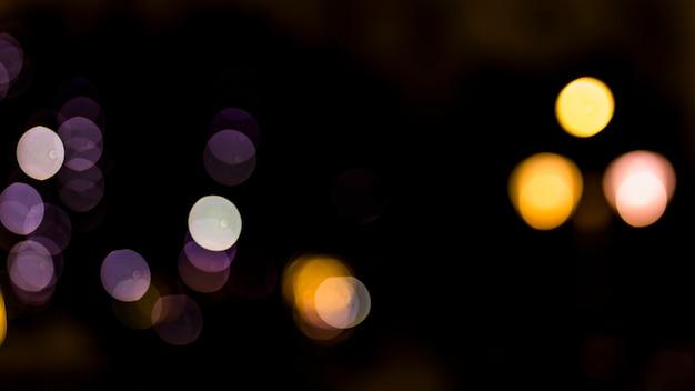 Fundo de luzes vintage de glitter