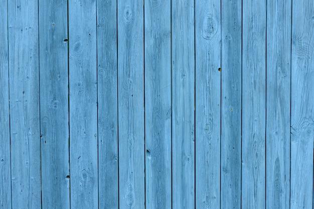 Fundo de madeira azul, efeito de velhice