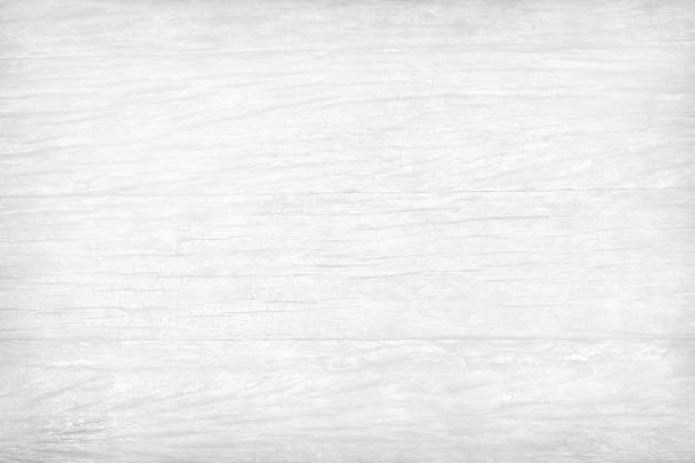 Fundo de madeira branco da textura com teste padrão natural velho para o trabalho de arte do projeto, vista superior da prancha da madeira do vintage.