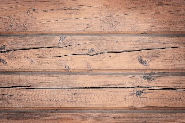 Fundo de madeira com textura marrom rachado
