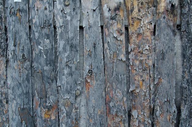 Fundo de madeira da cerca de madeira