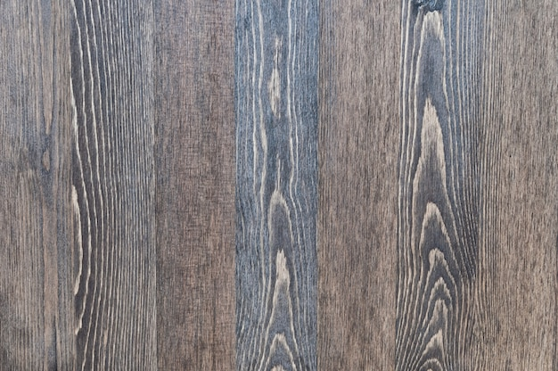 Fundo de madeira de placas de textura vertical de cor escura