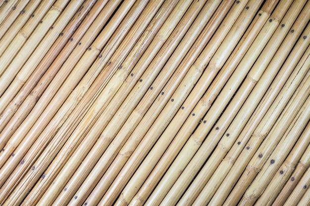 Fundo de madeira de vime