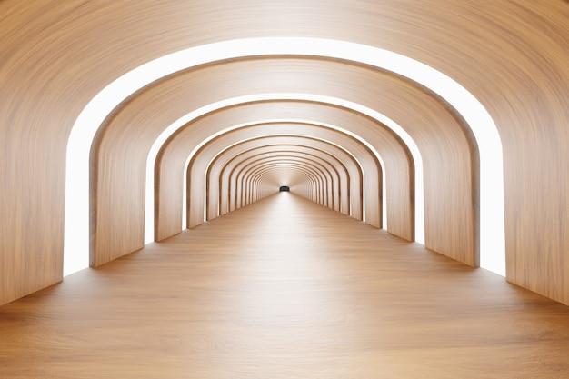 Fundo de madeira. fundo abstrato, design moderno, renderização em 3d