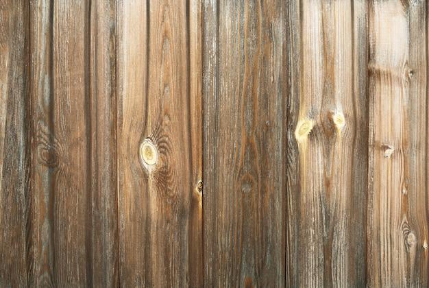 Fundo de madeira grunge com pranchas verticais. superfície texturizada de árvore