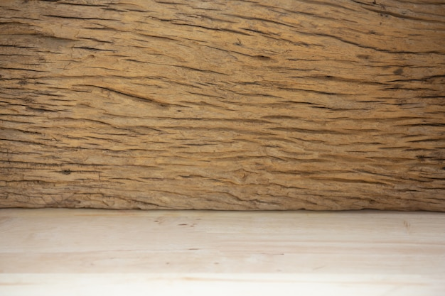 Fundo de madeira para o projeto.