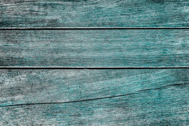 Fundo de madeira pintado de azul-petróleo