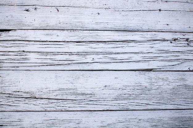 Fundo de madeira pintado de branco vintage lugar para modelo de texto em branco