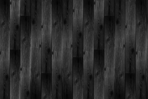 Fundo de madeira preto realista