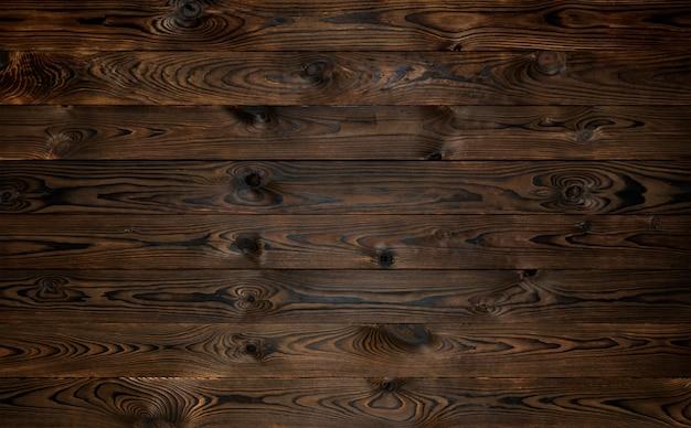 Fundo de madeira, textura de pranchas marrons rústicas, pano de fundo de parede de madeira velha