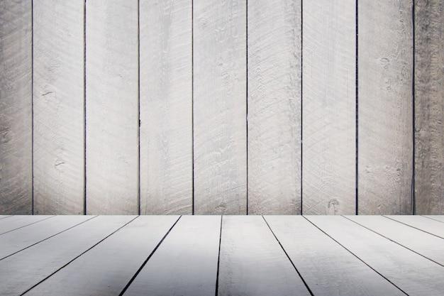 Fundo de madeira vazio para modelo de design