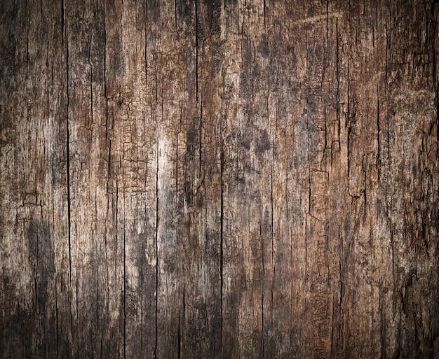 Fundo de madeira velha e rachada, alta resolução