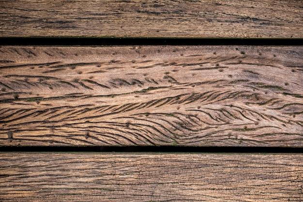 Fundo de madeira velho bonito