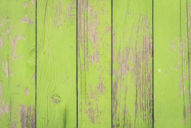 Fundo de madeira verde - cerca de padrão de madeira ecológica material vintage antigo