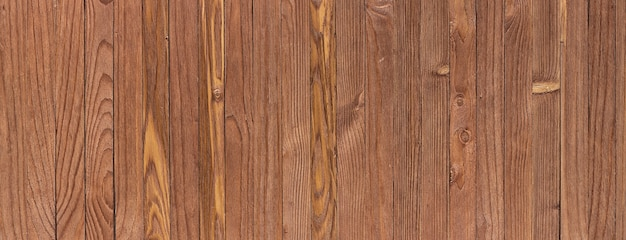 Fundo de madeira vintage, textura de madeira surrada. visão panorâmica widescreen