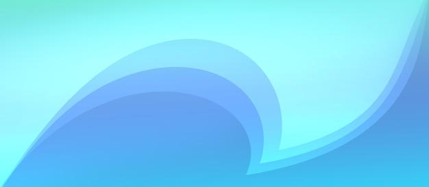 Fundo de malha de gradiente colorido azul