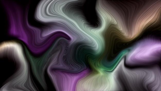 Fundo de mármore líquido de cor de luxo