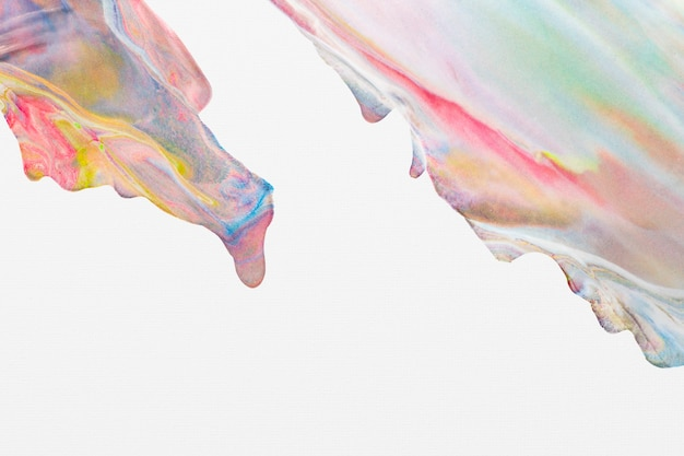 Fundo de mármore pastel colorido faça você mesmo estética textura fluida arte experimental