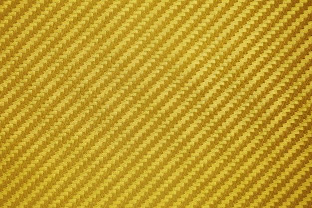 Fundo de matéria-prima composta de fibra de carbono ouro