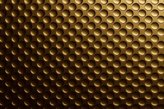 Fundo de material texturizado dourado liso