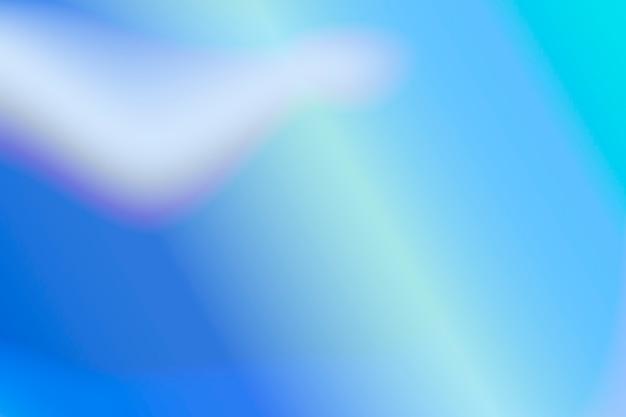 Fundo de meio-tom azul vibrante em branco