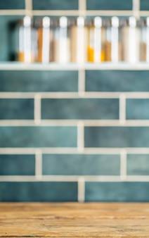 Fundo de mesa de cozinha. cozinha caseira vintage com azulejos. cozinhar pratos e comida caseira