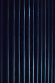 Fundo de metal azul escuro como design de pano de fundo urbano industrial e futurista