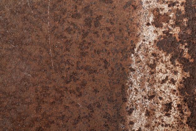 Fundo de metal com textura enferrujada. textura de ferro enferrujado para plano de fundo e elementos gráficos. foto