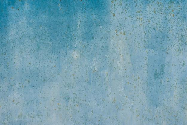 Fundo de metal com textura enferrujado azul. copie o espaço para designers.
