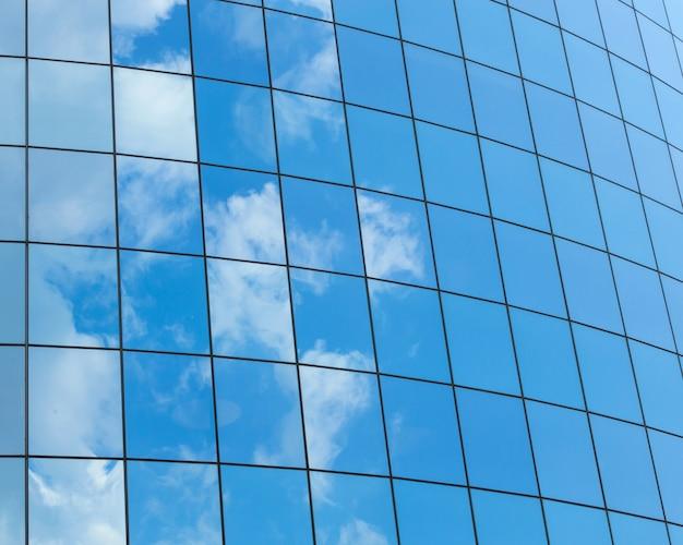 Fundo de modernos skycrapers de vidro