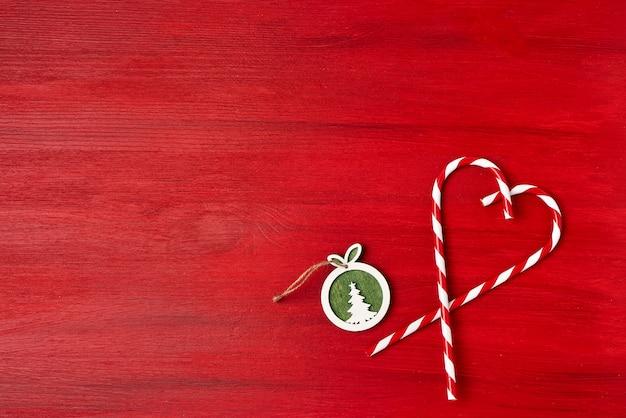 Fundo de natal. decoração de natal. copyspace