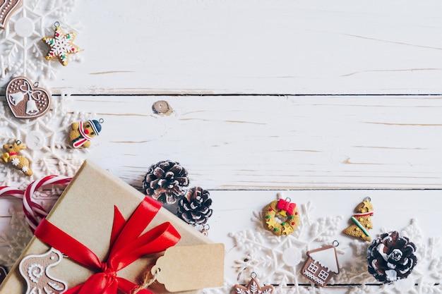 Fundo de natal e decoração de natal apresenta conceito
