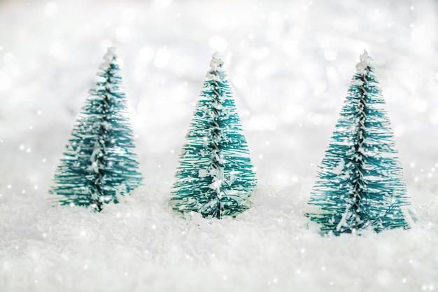 Fundo de natal. feliz ano novo. foco seletivo