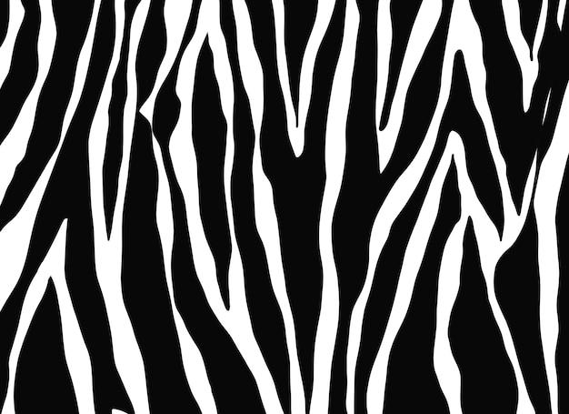 Fundo de natureza de animais com padrão zebra