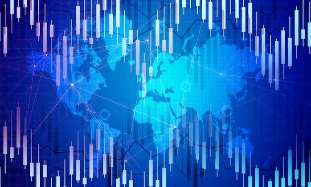 Fundo de negociação do mercado de ações digital