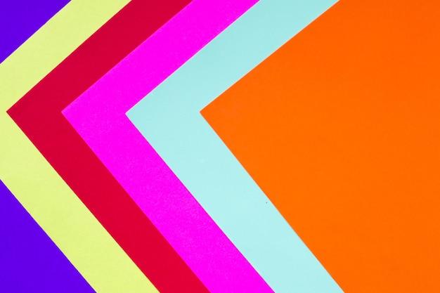 Fundo de néon na moda multicolorido diferente. lugar para texto