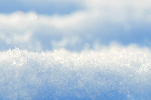 Fundo de neve