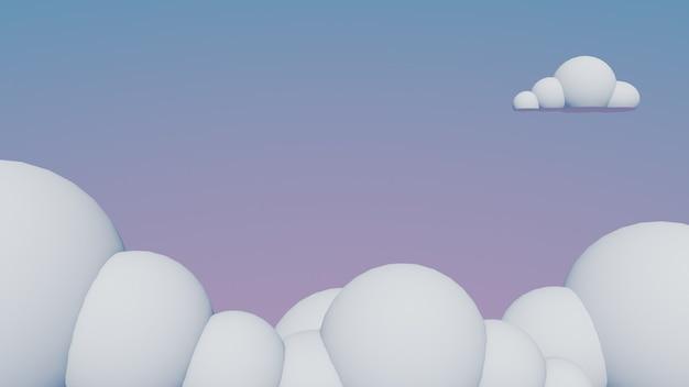 Fundo de nuvens