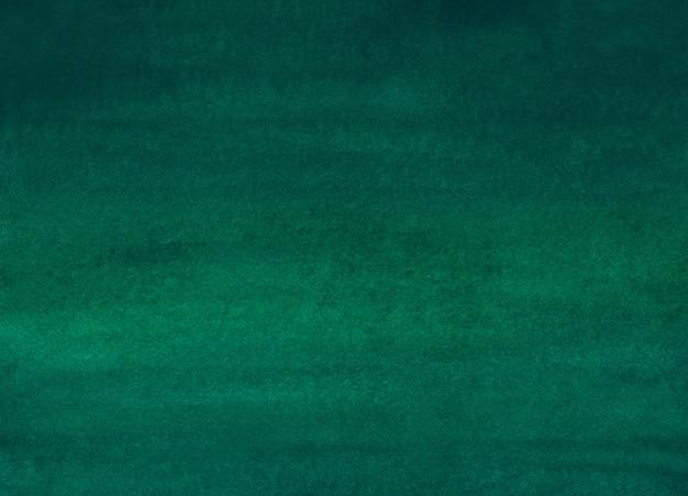 Fundo de ombre em aquarela verde profundo