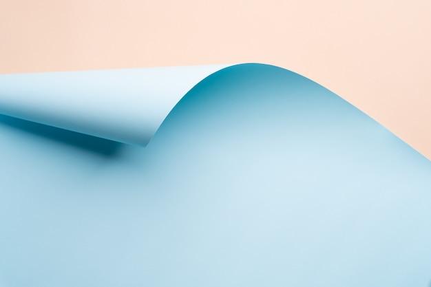 Fundo de ondas do mar de papel