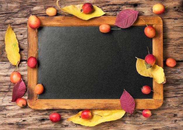 Fundo de outono simbólico