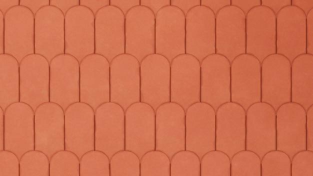 Fundo de padrão de argila geométrico realista minimalista detalhado