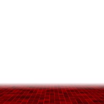 Fundo de padrão de composição de mosaico de azulejos coloridos de vidro cerâmico vermelho